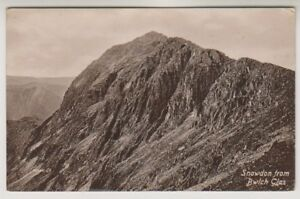 Wales postcard - Snowdon from Bwlch Glas - (A912)