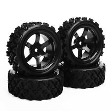 4Pcs Rally Tires&Wheel Rim PP0072 For HSP HPI RC 1/10 Model Off Road Racing Car