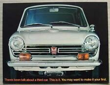 Honda 600 BERLINE USA AUTO sales brochure 1968