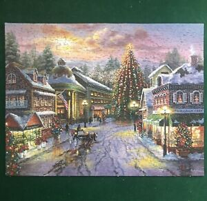 Christmas Eve 500 Piece Springbok Jigsaw Puzzle COMPLETE xmas 2008 Holiday