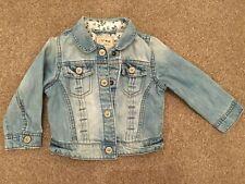 NEXT 'Little Butterfly' Baby Girl's Denim Jacket 12-18 Months