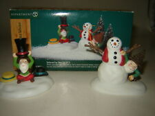 Dept 56 North Pole Woods Accessory - Tailored For You - 2 Pc Set