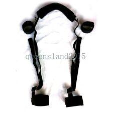 Bondage-Collar-4-Way-Wrist-Ankle-hand-Cuffs-Set-Fetish-Sex-Aid-Position-Pillow