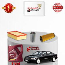 Servicesatz Filter + Öl Audi A8 4D 2.5 V6 Tdi 110KW 150hp 2002->