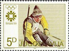 YUGOSLAVIA - 1984 - Olympic Winter Games in Sarajevo - Slalom - Sc. #1667