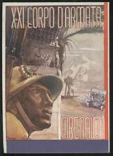 1940 - XXI Corpo d'armata - Cirenaica. Dis. Matta