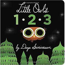 Little Owls 1-2-3 by Divya Srinivasan
