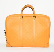 Original louis vuitton damier infini porte Documents bolso Bag impecable