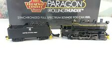 HO Broadway Limited 4324 2-8-0 Consolidation Paragon3, US Army #600