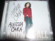 ALESSIA CARA Know It All (Deluxe) (Australia) Bonus Tracks Signed CD – Like New