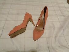 womens atmosphere coral pumps heels shoes size 7