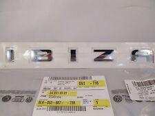Original Schriftzug SEAT Seat Ibiza 6L 6J Zeichen Chrom hinten Heckklappe