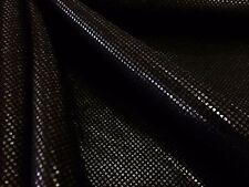 Hologram Black fabric 4 way Stretch  Nylon Lycra Spandex Swimwear by yard