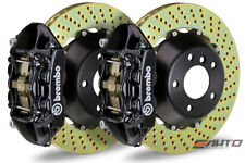 Brembo Rear GT Brake 4piston P Caliper Black 345x28 Drill Ferrari 550 575 96-05
