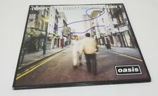 NOEL GALLAGHER signed auto (WHAT'S THE STORY) MORNING GLORY? Vinyl 2x LP OASIS