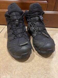Salomon XA Forces Hiking Boots Size 7 Black