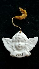 Avon Christmas Remembrance Ornament 1982 Angel NEW IN BOX