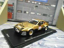 PORSCHE 924 Carrera GTS Rallye DRM Metz 1981 Röhrl Monnet NEU 1/200 Spark 1:43