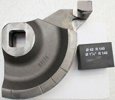 """REMS segmento de flexión y deslizamiento pieza 1 1/4 """"42,4 mm, 140 R Nº 581530 Curvo 50"""