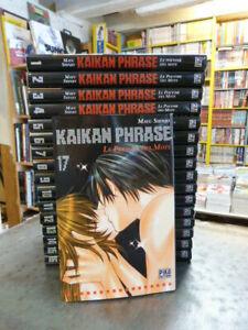 Intégrale Kaikan Phrase  M. Shinjo Pika 17 vol en Français