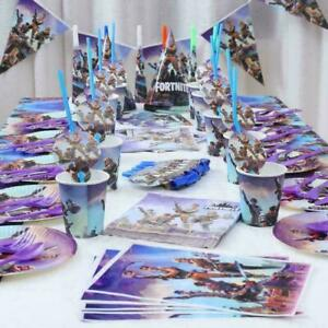 Gaming Party Supplies Battle Royale Fortnite Birthday Party Supplies