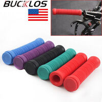 BUCKLOS Mountain/Road/Folding Bike Grips Silicone Cover Handlebar Ends Plugs US