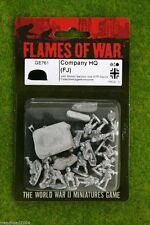 Flames of War GERMAN Company HQ (FJ) 15mm GE761