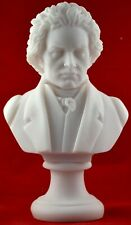 Beethoven Bust greek statue white  NEW Free Shipping - Tracking