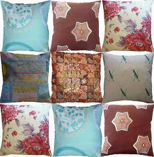 Unbranded Cotton Blend Vintage/Retro Decorative Cushions