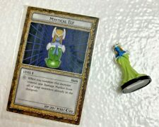 YUGIOH Dungeon Dice Monsters DDM - MATTEL  MYSTICAL ELF  figure and card