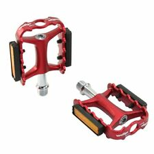 Wellgo M111 M-111 MTB Aluminum Forged Pedals , Red