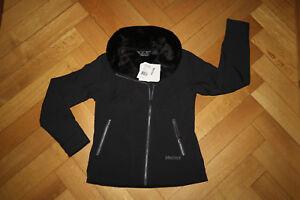 Marmot Christy M1 Softshell Jacke Damen schwarz mit warmem Fleece-Futter UVP190€