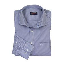 Große Größen Herren Hemd gestreift langarm von Casamoda XXL - 7XL WOW