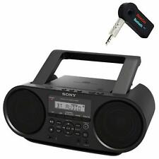 Sony ZS-RS60BT CD Boombox with Bluetooth + A New Wireless Bluetooth Receiver