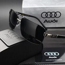New Sunglasses Polarized Men Driving Audi Glasses With Box black 550