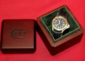 COLT Firearms Factory CW3 Outback Swiss Watch Mint in Box