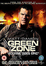 Green Zone (DVD, 2010) Matt Damon, Bourne Goes Epic. 15. VGC.