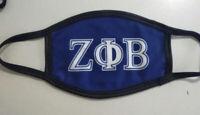 Zeta Phi Beta Sorority Extra Large Scarf Foil Applique Symbol-New!