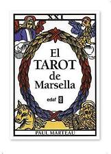 NEW El tarot de Marsella (Spanish Edition) by Paul  Marteau