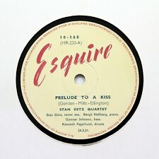 "STAN GETZ QUARTET ""Prelude To A Kiss / Night And Day"" (E+) ESQUIRE 10-168 [78]"