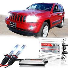 GENSSI HID Xenon Conversion Kit Bulbs 55W For Jeep Grand Cherokee 2005-2010