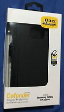 New Otterbox Defender Case + Holster for Samsung Galaxy S7 ACTIVE - BLACK