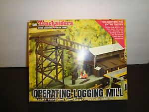 Life Like Operating Logging Mill HO Scale