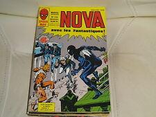 NOVA n° 116 de 1987- SPIDER MAN - LES FANTASTIQUES IRON MAN comme neuf.