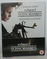 EDUARDO MANOSTIJERAS (EDWARD SCISSORHANDS) STEELBOOK BLU-RAY + DVD UK SOLD OUT