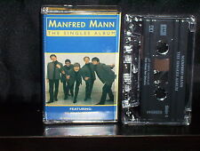 MANFRED MANN THE SINGLES ALBUM - ULTRA RARE AUSTRALIAN CASSETTE TAPE NM