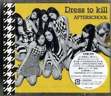 AFTERSCHOOL-DRESS TO KILL-2ND ALBUM-JAPAN CD BONUS TRACK G88