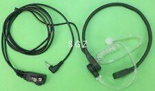 For Motorola Throat Mic VOX Earpiece/Headset 2 Way Radio MU350 MU354 MD207 MT352