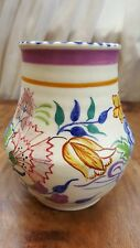 "ART DECO, POOLE VASE FLORAL PATTERN ""BN"" BY ETHEL BARRETT?.  CIRCA 1927"