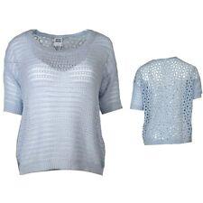 Vero Moda Damen Häckel Pulli Pullover Nichelle 2 4 Blouse blau M 10127103 84abb895e3